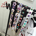 2016 moda colorido rebite bolsas sacos de mulheres cinta cintos mulheres ícone saco saco sacos de acessórios peças de couro pu cintos 2 cor