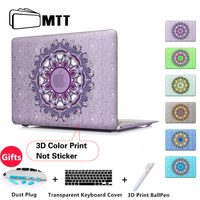 Floral Paisley Matte Case For Apple Macbook Air 13 Case Air 11 Pro 13 Retina 12