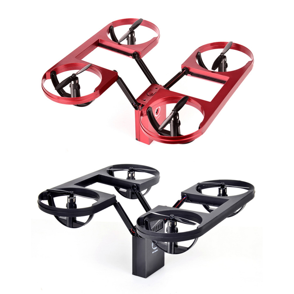 New TYRC Pocket HD Aerial WIFI Transmitting Altitude Held Triple Folding Quadcopter Remote Control Aircraft