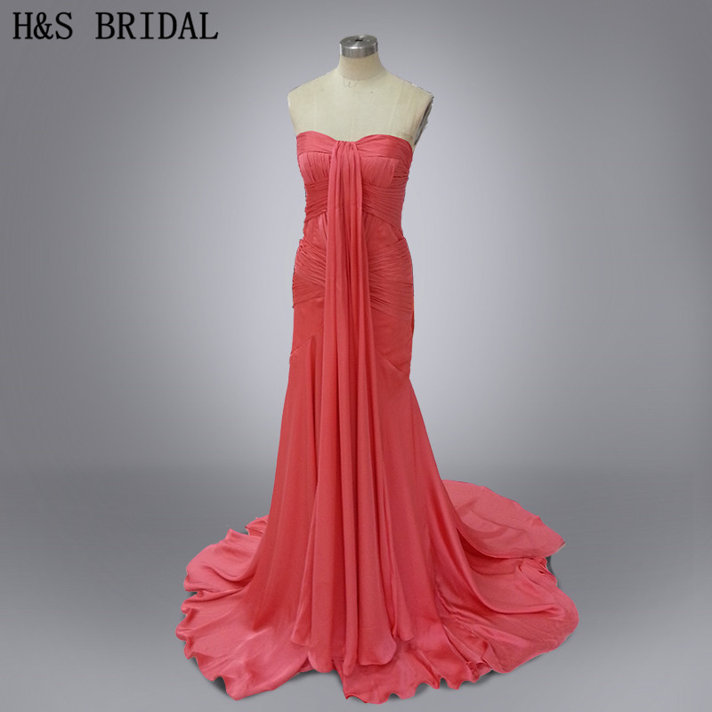 Настоящее фото vestido де феста лонго красный сексуальные вечерние ну вечеринку платье шифона дизайнер вечернее платье