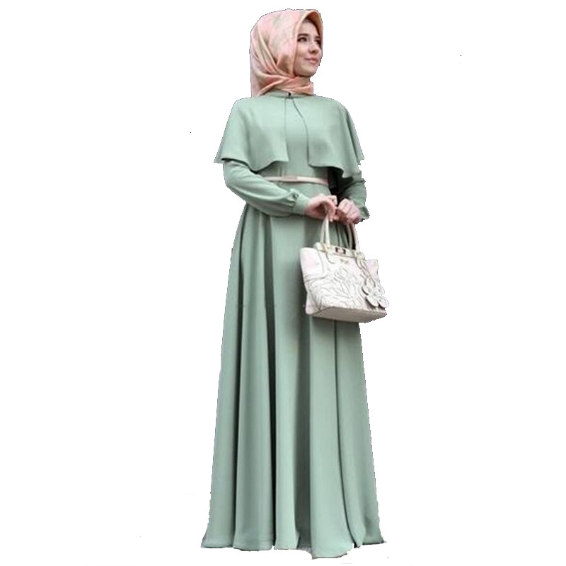Formal classic arabic dresses muslim costumes muslim dress women islamic abaya T901