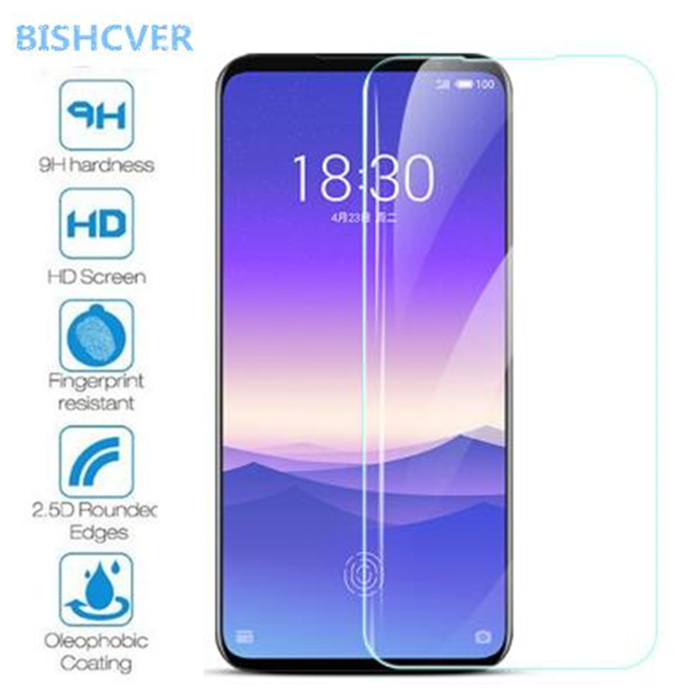 iPartsBuy Glass Screen Protector for Meizu 100 PCS 0.26mm 9H Surface Hardness 2.5D Full Screen Tempered Glass Film for Meizu M6T