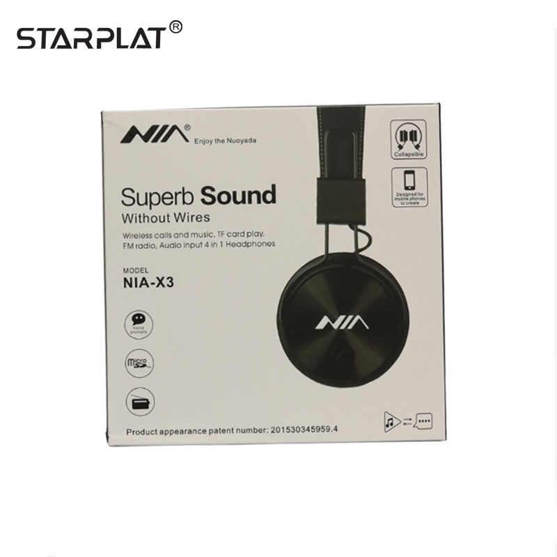 Vendita calda X3 Auricolare Bluetooth Dual-ear stereo senza fili Cuffia Auricolare Bluetooth di Sport APP FM stereo radio carta di TF