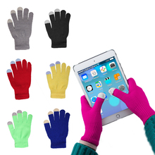 iMucci Gloves Women Knitted Touchscreen Smartphone Warm Wool Gift For Men and