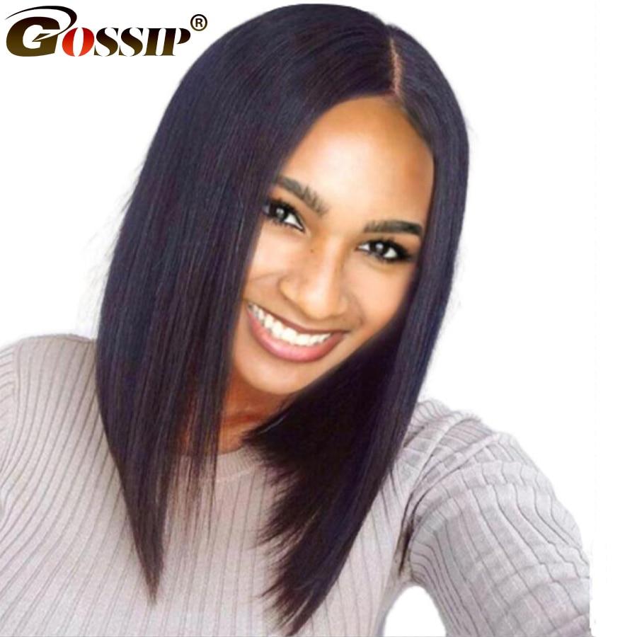 Σύντομη περούκα μαλλιών περούκα - Ανθρώπινα μαλλιά (για μαύρο) - Φωτογραφία 1