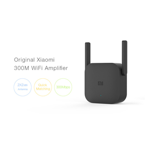 Image 3 - Xiaomi mijia プロ 300 メートルの無線 lan ルータアンプネットワークパンダリピータ電源エクステンダー roteador 2 アンテナミルーターの wi fi