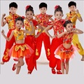Chino tradicional traje de la danza de los niños dragón niños trajes de danza folclórica hanfu moderno para niñas león nacional para los niños