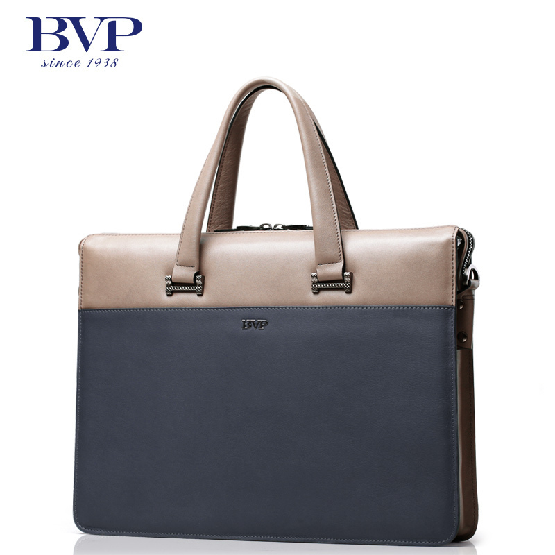 BVP - DHL Free Ship high-end Men's Top Business Genuine Leather Cowhide Lawyer Briefcase Lawyer Tote Messenger Shoulder Bag J35 цена и фото