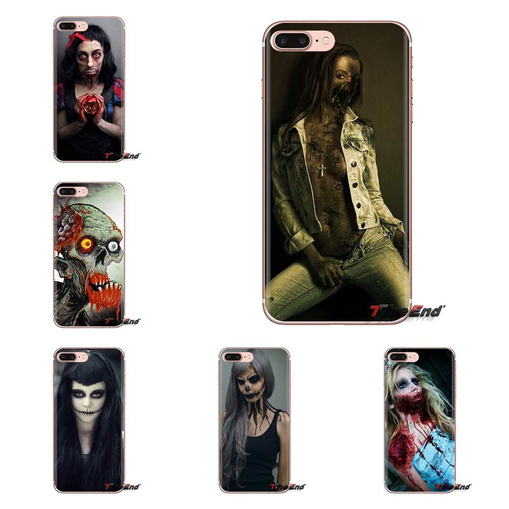 Tattoo Princess Zombies Art Soft Transparent Covers For Oneplus 3T 5T 6T Nokia 2 3 5 6 8 9 230 3310 2.1 3.1 5.1 7 Plus 2017 2018