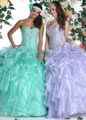 2017 lilás do aqua vestidos quinceanera com jacket vestido de baile querida ruffles frisada organza vestidos de baile sweet 15 vestidos de 16