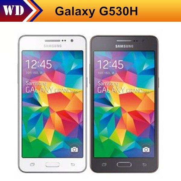 Цена за Восстановленное Разблокирована Сотовый Телефон Оригинальный Samsung Galaxy Grand Prime G530 G530H Ouad Основные Dual Sim 5.0 Дюймов Сенсорный Экран