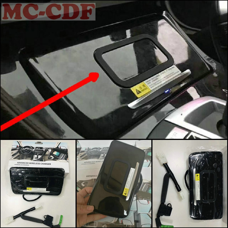 For BMW 5 Series F10 F18 520 523 525 530 535 2014-2017 Car Mobile Phone Wireless Charging Panel Active Cooling