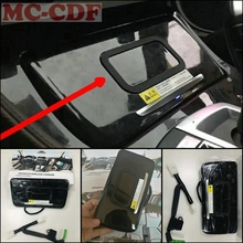 For BMW 5 series F10 F18 520 523 525 530 535 2014 2017 Car mobile phone wireless charging panel active cooling