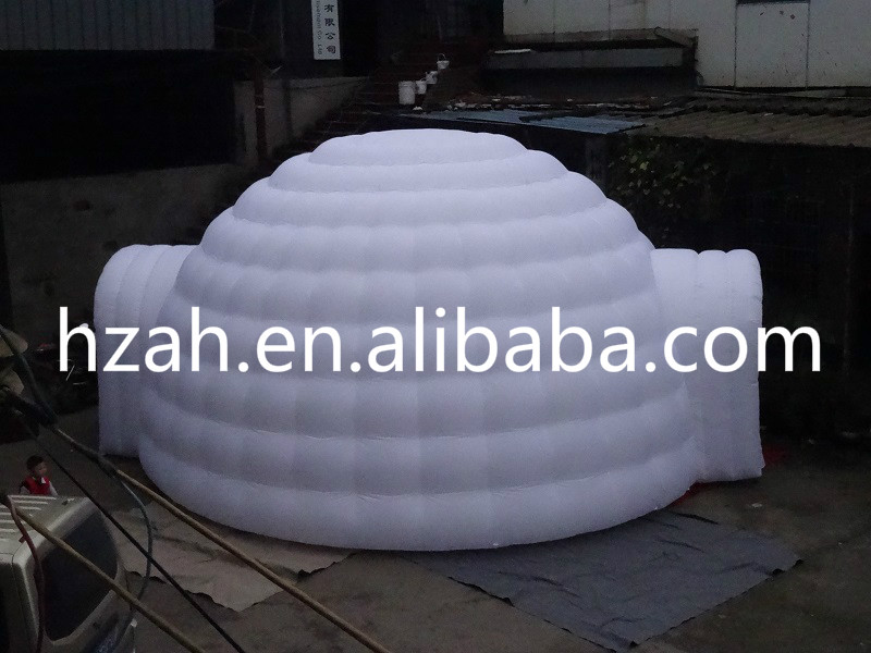 Two Doors Giant Inflatable Igloo Dome Tent