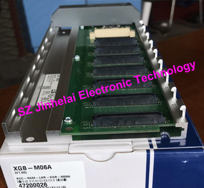 100% New and original XGB-M06A LS(LG) Base board, 6 slots for I/O Module 1pcs xc3s1600e 5fg484c xc3s1600efg484 ic fpga 376 i o 484fbga bga in stock 100%new and original