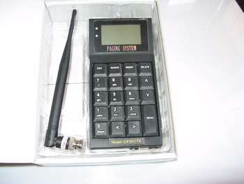 PC, Software Poscag paging system Alpha pager transmitter paging machine numerical pager transmitter, restaurant callsys