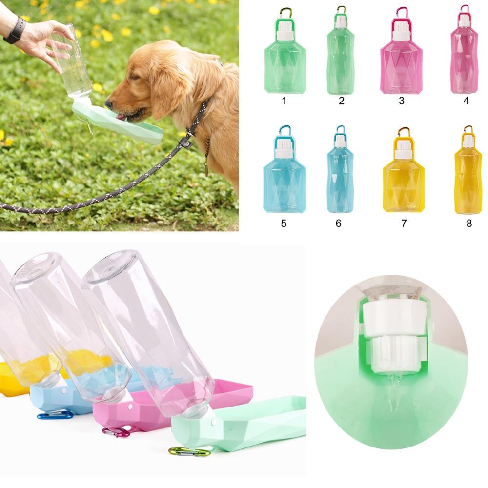 Plastic Pet Travel Water Drinking Bottle Portable Pet Dog: Aliexpress.com : Buy 250ml 500ml Plastic Portable Pet