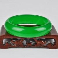 Green Jadeite Bracelet Female Style Full of Green Jadeite Bracelet