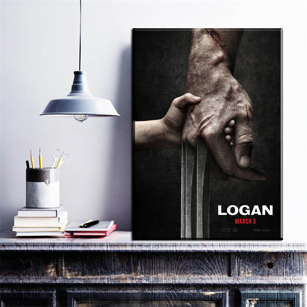 ZZ1637 The 3 Logan 2017 Art Poster Movie Film posters and print canvas pictures oil art painting for livingroom bedroom decor