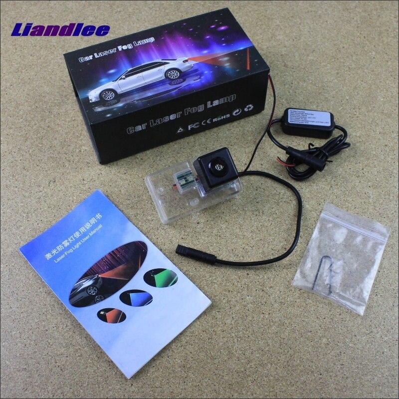 Liandlee Automobile Prevention Anti Fog Haze Laser Lamps For Citroen Saxo / Xsara Collision Brake Lights Warning Lights