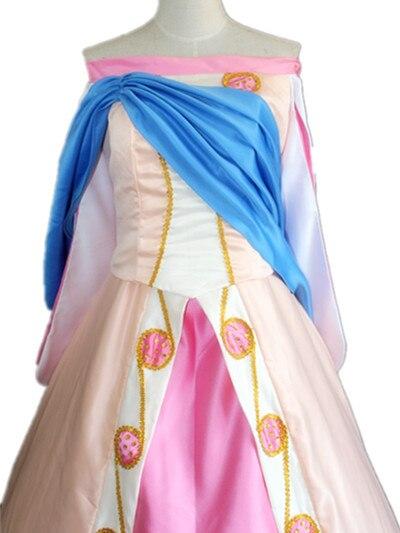 100%real princess Anastasia cartoon cosplay ball gown Medieval dress court Renaissance Gown Victoria dress Belle ball