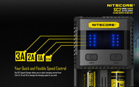 Brand New Nitecore SC2 Superb 18650 Battery Charger 3A Fast Charge with USB Output Without Battery