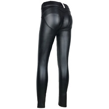TENTAR BN B Couro PU Legging Jegging Leggins Jeggings Gótico(China)