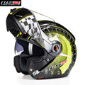 LS2 Flip up Modular Motorcycle Helmet Moto Full Open Face Motobike 370D Motocicleta Cacapete Casco Casque Kask Men Helmets