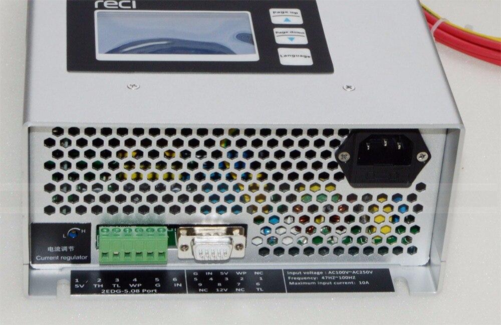Reci лазерного питания P16 130 Вт матч с лазерной трубки S6 w6 130 Вт использовать для лазерной трубки w6 s6 мощности лазера коробка p16