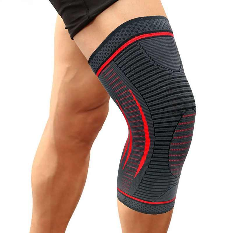 CAMEWIN 1PCS Compression Knee Sleeve,Knee Brace Support for Sports,Running,Jogging,Joint Pain Relief,Arthritis & Injury Recovery
