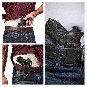 Image 5 - Inside the Waistband IWB Kydex Gun Holster For Taurus PT111 PT140 G2 Millenium G2C Glock 19 23 25 32 Concealed Carry