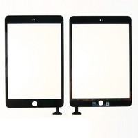 GrassRoot Tablet For IPad Mini 3 Touch Screen Digitizer Assembly With Home Button Home Flex Cable