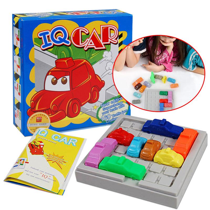 Машинка-головоломка игрушка креативный интеллект IQ автомобиль игра пик час логика игра развивающая игра игрушки воспламеняют логическое мышление
