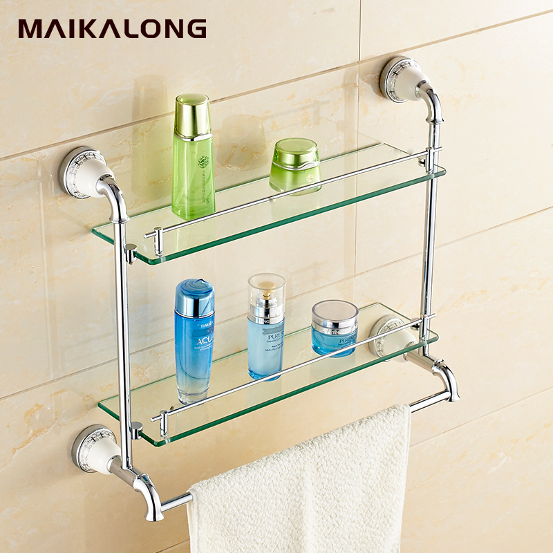 Bathroom Accessories Glass Shelves compare prices on glass shelf bathroom- online shopping/buy low