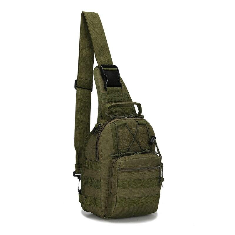 Explorer Getriebe Military Reiten Getriebe Schulter Sling Tasche Brust Fly Männer und Frauen Pack für Ipad 1000D Cordura Brust Pack serpentin