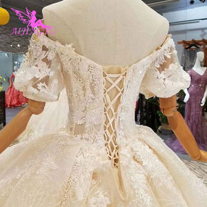 Image 5 - AIJINGYU Beautiful Wedding Gowns Online Crystal Pictures Amazing Shops Luxury Newest Gown female Made In Turkey