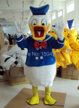 Adult Donald Duck and Daisy Mascot Costumes Free Shipping Donald Duck mascot costumes for adults Daisy costumes halloween
