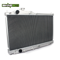 BIKINGBOY Vehicle Engine Cooling Auto Car Radiator for Honda S2000 00 01 02 03 04 05 Core 375x648x50mm Replacement Polished