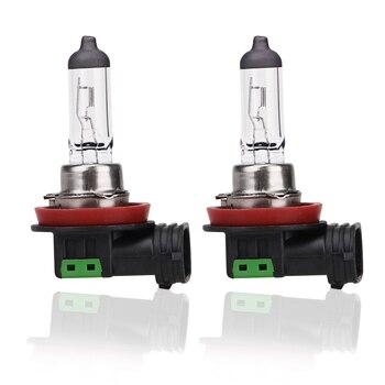 2pcs 12v 55w H11 Halogen Bulb 4300K Quartz Glass Car Fog Light Auto Lamp Headlight Bulbs White Lights - discount item  6% OFF Car Lights