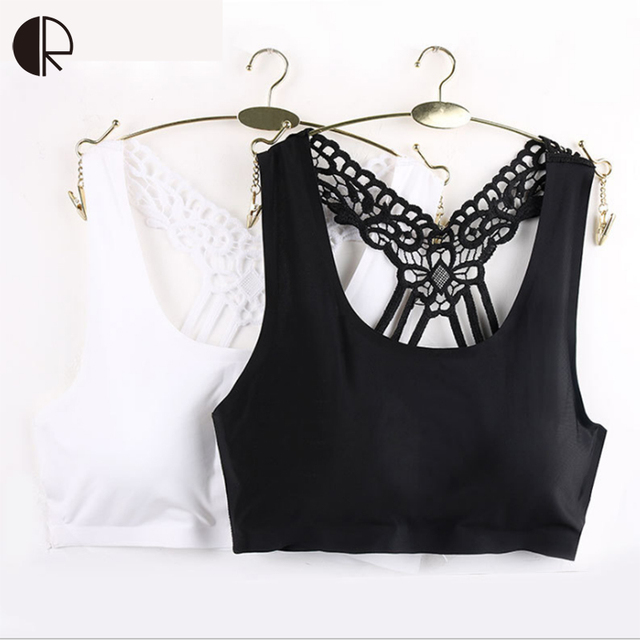 2016 New Arrival Sexy Lady Womens Stretch Lace Modal Padded Take Top Bandeau Y-line  Bra wholesalesDrop Shipping WI426