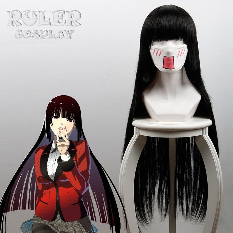 Kakegurui Compulsive Gambler 2 Momobami Ririka Wigs Jabami Yumeko Cosplay Wigs Heat Resistant Synthetic Wig Halloween Party