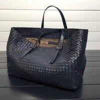 ISHARES модные дизайнерские сумки из натуральной кожи сумка на плечо из овчины плетеная большая сумка для покупок брендовые сумки ручной работ