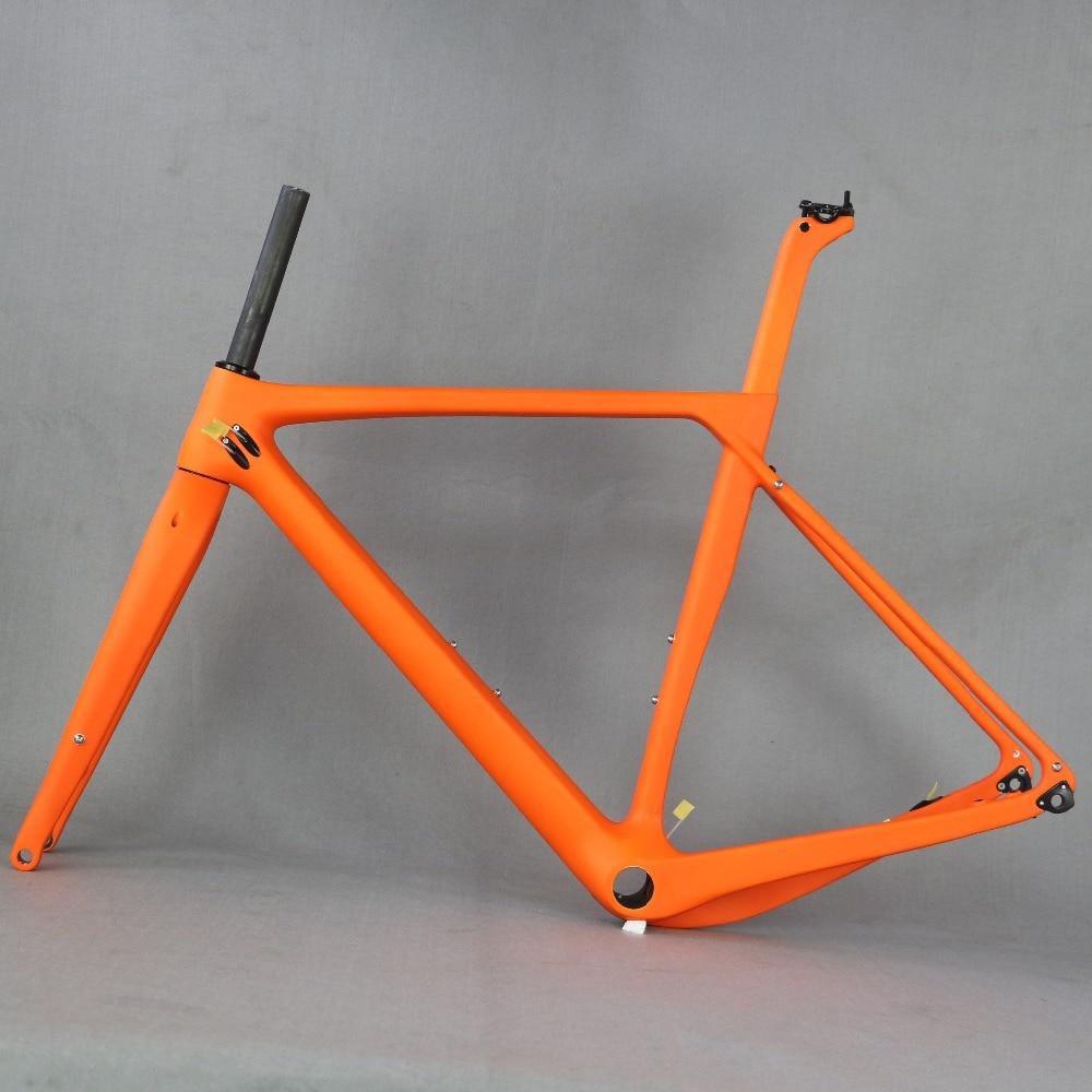 2019 Full Carbon Fiber Gravel Bike Frame GR030 , Bicycle GRAVEL Frame Factory Deirect Sale CUSTOMIZED PAINT Frame Giant Gravel