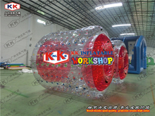 Inflatable Roller Cylinder Water  Walking Balls Water Game Sports Toy Safety amphibious sports roller komori machine spare parts ls40 water roller cylinder air cylinder