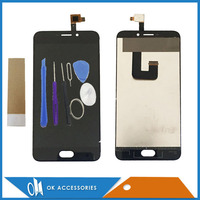 Black Color For UMI Plus LCD Display With Touch Screen Panel Glass Good Quality 1pc Lot