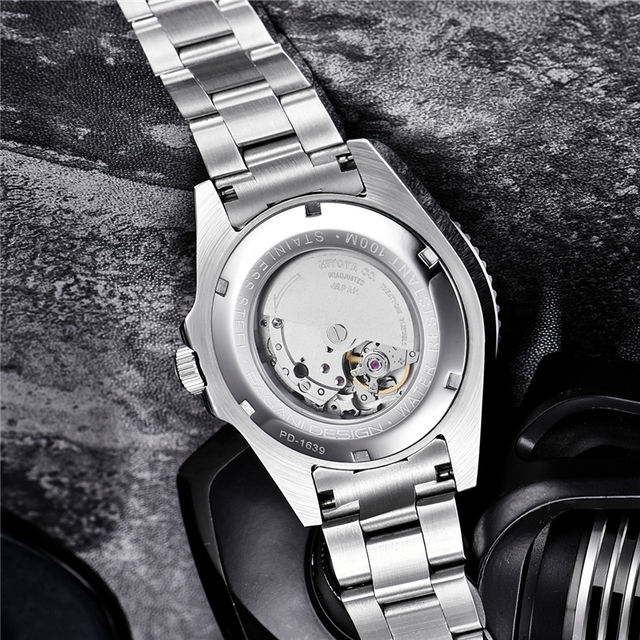 2019 NEW PAGANI DESIGN Brand Luxury Automatic Mechanical Watch Men stainless Steel Waterproof Business Men's Mechanical Watches