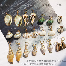 New 2019 Ocean Earrings Bohemian Shell Scallop Conch Starfish Pearl Drop For Women