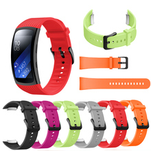 For Samsung Gear Fit 2 Pro Watchband Silicone Replacement Men womens Bracelet watches Strap SM-R360 Bands