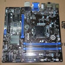 Подержанные Оригинальная для MSI Q87M-E43 1150-контактных Q87 DDR3 Материнская Плата (заменить H8I Z87 B85 материнской платы)
