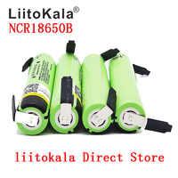 2019 Liitokala 100% Neue Original NCR18650B 3,7 v 3400 mah 18650 Lithium-Akku DIY Nickel Blatt batterien